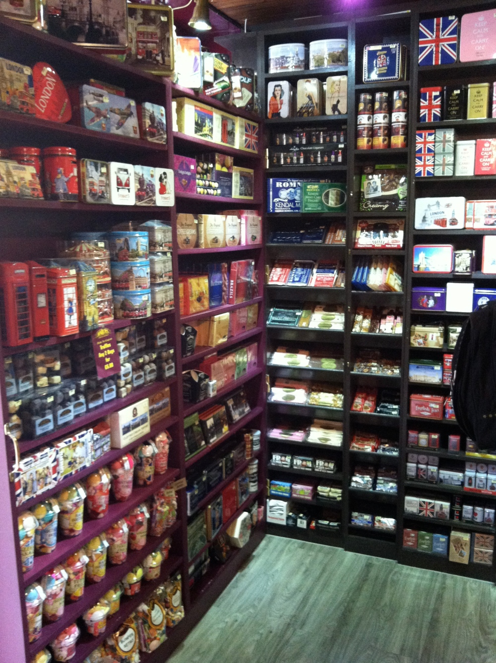 candy floor to ceiling